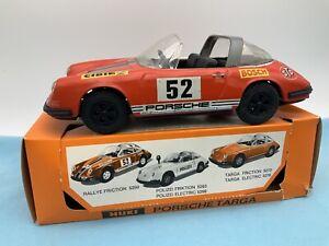# Huki 5250 Porsche Targa Rallye  In OVP 60er (64818) Blechspielzeug