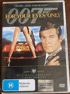 For Your Eyes Only 2-disk Ultimate Edition! Roger Moore plays sexist pig 007.