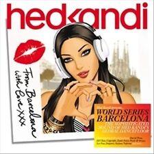Hed Kandi - World Series: Barcelona (CD, Oct-2011, 2 Discs, Hed Kandi)