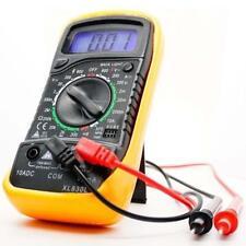 Digital Voltmeter Ammeter Ohmmeter Multimeter Volt AC DC Tester Meter XL-830L JM