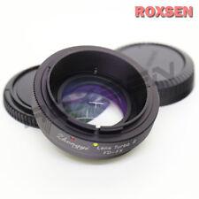 Zhongyi Lens Turbo II Focal Reducer Booster Adapter Canon FD to Fujifilm FX X-T2