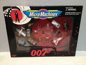 JAMES BOND 007 MICRO MACHINES BY GALOOB NIB