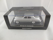 Minichamps 436 139552  1956 Bentley S1 Continental in Silver scale 1:43