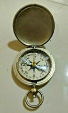 OLD MARINE ANTIQUE WITTNAUER NAVIGATION SMALL COMPASS MADE IN US 1 PCS