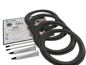 "10"" Altec Lansing 501 Foam Edge Woofer Surround Speaker Repair Kit 4 Pack"
