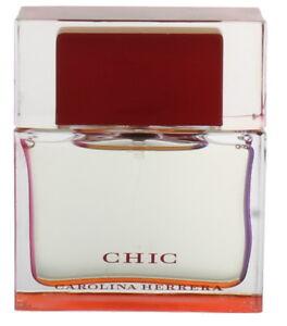 Chic by Carolina Herrera for Women EDP Perfume Spray 1.7 oz. Unboxed NEW