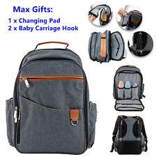 Mummy Diaper Bag Baby Nappy Backpack Waterproof Large Capacity Multipurpose Tote