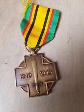 Médaille belges 1940 1945 ww2