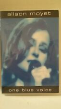 ALISON MOYET One Blue Voice DVD 2005 Huge Films original concert/bonus Oop MINT