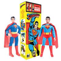 DC Comics Retro OVERSIZED Box 8 Inch Action Figures: Set of 2 Superman Figures