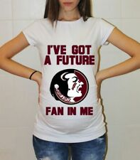 Florida State Seminoles Baby Pregnancy Baby Shower College Maternity Shirt Baby