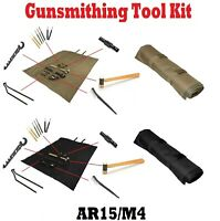 NcSTAR Rifle Gunsmith Tool Kit Include Armorer's Wrench/Roll Up Cleaning Mat