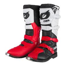 O`Neal Oneal Rider pro Cross Stiefel Enduro schwarz rot weiss Gr. 45 Teststiefel
