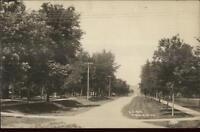 Windom MN 6th Ave c1910 Real Photo Postcard