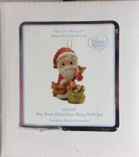 Nib Precious Moments May Your Christmas Ring With Joy Porcelain Ornament 101068