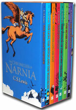 The Chronicles of Narnia 7 Books Box Set Collection - (Vol 1-7) - NEW