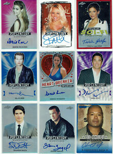 Pop Century Leaf Razor Various Series 2010 - 2019 Autograph Card Selection