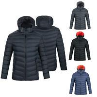 Mens Winter Warm Duck Down Jacket Lightweight Packable Outwear Puffer Down Coats