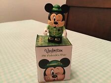 """Disney Vinylmation 3.5 """" St.Patricks Day Whistling Mickey !"""