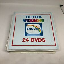 Ultra Vision English For Spanish Speakers 24 DVD USED