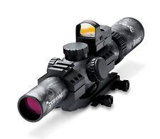 Burris 200438-FF SkullTac Combo 1-4x24mm Illuminated Ballistic CQ Riflescope