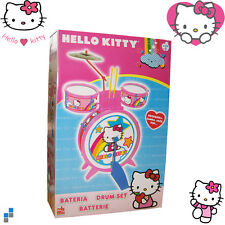 Enfants Drum set Hello Kitty