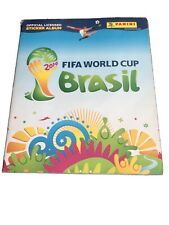 Panini Brazil World Cup 2014 Sticker Album Not Complete