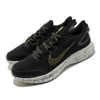 Nike Runallday 2 SE Black Medium Olive Limelight Men Running Shoes CT3511-001