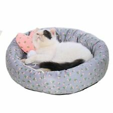 Pet Cat Bed Dog Breathable Lounger Sofa for Small Medium Dogs Super Soft Plush