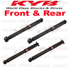 KYB 4 Shocks 4WD Chevy Silverado K1500 / GMC  K1500  4X4  FRONT & REAR