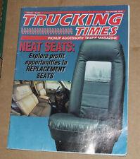 Trucking Times - May/June 1996 Edition USA Trade Magazine
