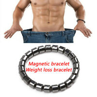 Magnetic Healthcare Bracelet Weight Loss Healthy   Hematite Stone BeadsWH