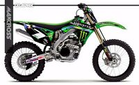 KAWASAKI KX250F KX450F 2009 2010 2011 MAXCROSS GRAPHICS KIT FULL MSP-STYLE-11