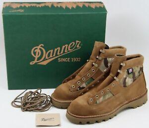 """RARE - Danner DESERT Acadia 6"""" OLIVE CAMO Boots Men's 8.5 EE GORE-TEX 35112 NOS"""