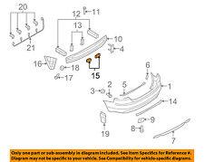 AUDI OEM 07-09 S4 Rear Bumper-Sound Absorber 8H0807869