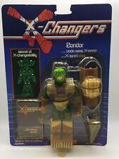 Vintage X-Changers Zondor Action Figure Toy Complete MOC Acamas Toys 80s
