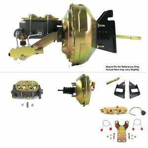 "1973-87 Chevy Truck C10 C20 FW Mount Power 9"" Single Brake Booster Kit Disc/Drum"