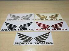coppia adesivi stickers resinati 3d ali honda nuovi colori cbr rr hornet 135 mm