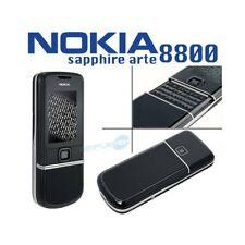 TELEFONO CELLULARE NOKIA 8800 SAPPHIRE ARTE BLACK UMTS LUXURY PHONE-
