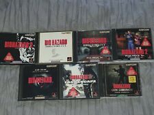 Resident Evil / Biohazard - 7 Game Collection - NTSC-J - (Sony Playstation 1)