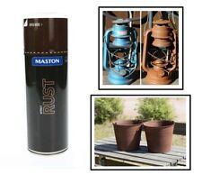 Maston Spray Rosteffekt 400ml Rostoptik Spraydose HIT mit kleine Metallpartikel