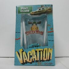 National Lampoon's Vacation Set of 2 Walley World Marty Moose Pint Glasses NEW