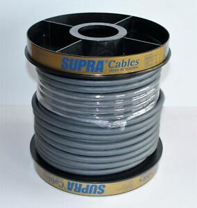 Supra Cables LoRad SPC 2.5 Silver Anniversary Edition Netzkabel Meterware