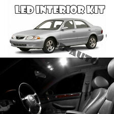 For 97-02 Mazda 626 White LED Light Bulb 5050 SMD Interior Kit QTY = 13pieces