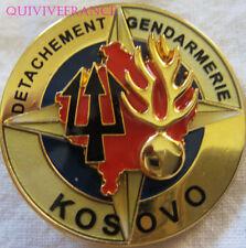 IN11175 - INSIGNE Détachement de Gendarmerie KOSOVO