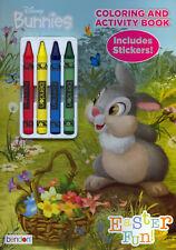 Disney Bunnies coloring book RARE UNUSED