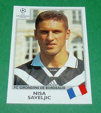 N°261 SAVELJIC GIRONDINS BORDEAUX PANINI FOOTBALL CHAMPIONS LEAGUE 1999-2000