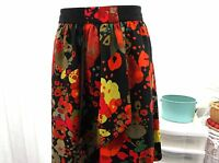 """""""per una"""" ladies floral skirt size 8 lined"""