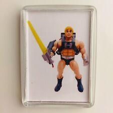 LASER POWER HE-MAN He-Man Masters of the Universe MOTU Fridge Magnet