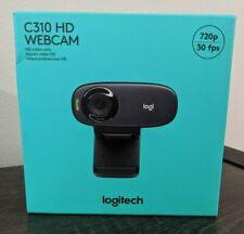 LOGITECH C310 HD Webcam 720p - Black -  SEALED & NEW  Quick Ship